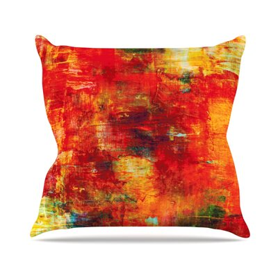 Autumn Harvest by Ebi Emporium Throw Pillow Size: 26 H x 26 W x 5 D
