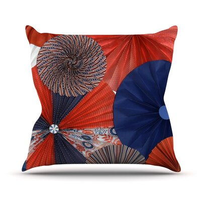 Liberty by Heidi Jennings Throw Pillow Size: 18 H x 18 W x 3 D