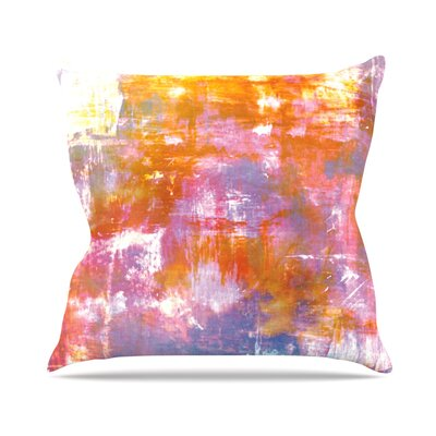 Off The Grid II by Ebi Emporium Throw Pillow Size: 16 H x 16 W x 3 D