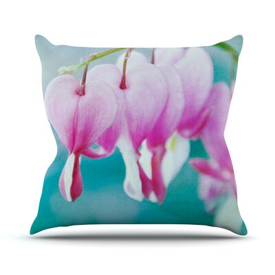 Dicentra by Iris Lehnhardt Throw Pillow Size: 16 H x 16 W x 3 D