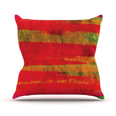 Fierce by Ebi Emporium Throw Pillow Size: 20 H x 20 W x 4 D