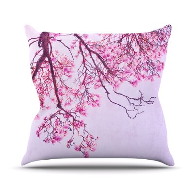 Magnolia Trees by Iris Lehnhardt Branches Throw Pillow Size: 18 H x 18 W x 3 D