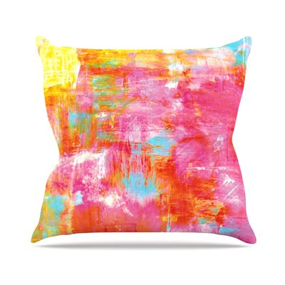 Off The Grid III by Ebi Emporium Throw Pillow Size: 16 H x 16 W x 3 D