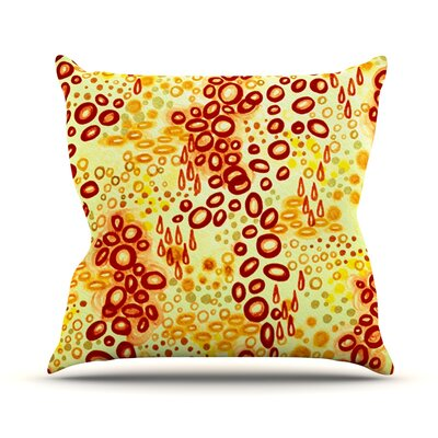 Persuasin by Ebi Emporium Throw Pillow Color: Brown, Size: 18 H x 18 W x 3 D