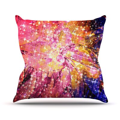 Out There by Ebi Emporium Throw Pillow Size: 18 H x 18 W x 3 D