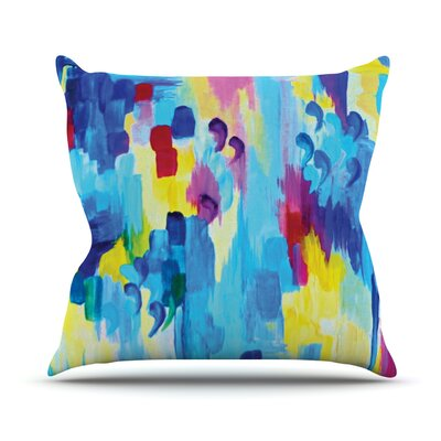 Dont Quote Me Revisited by Ebi Emporium Throw Pillow Size: 20 H x 20 W x 4 D