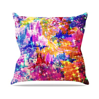 Sky Risers by Ebi Emporium Glam Throw Pillow Size: 18 H x 18 W x 3 D