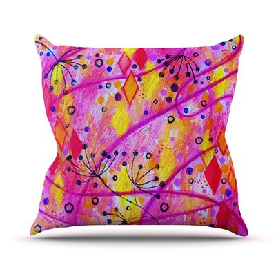 Into the Fall 2 by Ebi Emporium Throw Pillow Size: 26 H x 26 W x 5 D