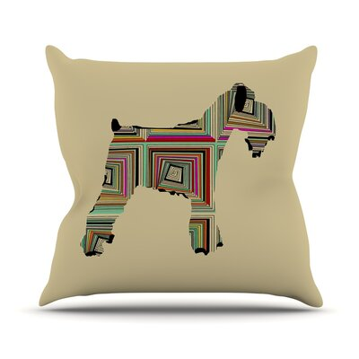 Schuavzer by Bri Buckley Throw Pillow Size: 18 H x 18 W x 1 D