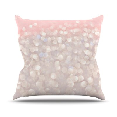 Magical Glitter Throw Pillow Size: 16 H x 16 W x 1 D
