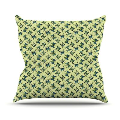 Flutterby by Holly Helgeson Throw Pillow Size: 26 H x 26 W x 1 D