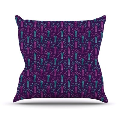 Fairy Forest by Holly Helgeson Throw Pillow Size: 20 H x 20 W x 1 D