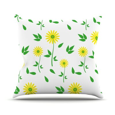 Daisy by Louise Throw Pillow Size: 18 H x 18 W x 3 D