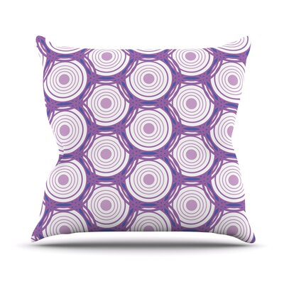 Labyrinth by Louise Throw Pillow Size: 18 H x 18 W x 3 D