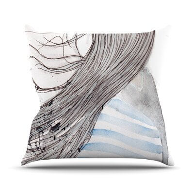 Breeze by Louise Throw Pillow Size: 16 H x 16 W x 3 D