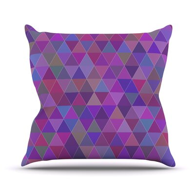 Abstract by Louise Throw Pillow Size: 16 H x 16 W x 3 D