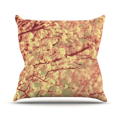 Vintage Blossoms by Ingrid Beddoes Flower Throw Pillow Size: 18 H x 18 W x 3 D
