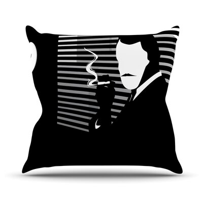 Vincent by Kevin Manley Throw Pillow Size: 16 H x 16 W x 3 D