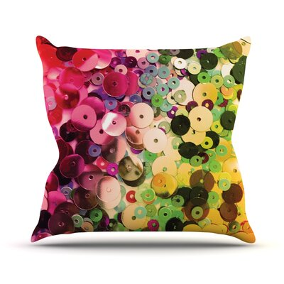 Spots by Louise Machado Sparkle Throw Pillow Size: 16 H x 16 W x 3 D