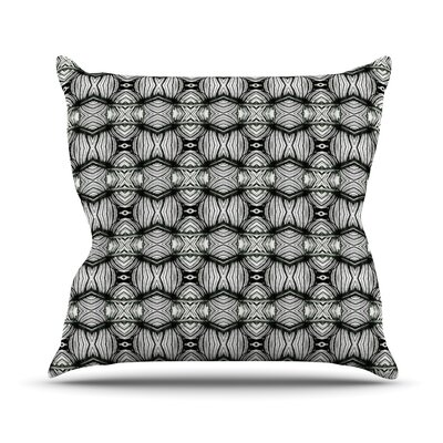Flor by Matthias Hennig Throw Pillow Size: 16 H x 16 W x 3 D
