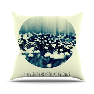 You Belong by Ingrid Beddoes Throw Pillow Size: 26