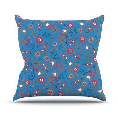 Meadow by Michelle Drew Paisley Throw Pillow Size: 26 H x 26 W x 5 D
