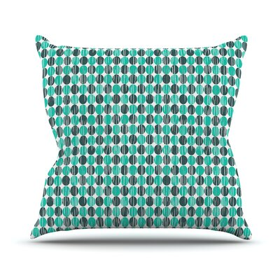 Distressed by Michelle Drew Throw Pillow Size: 16 H x 16 W x 3 D