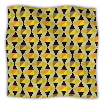 Onyx by Louise Machado Fleece Throw Blanket Size: 80 H x 60 W x 1 D