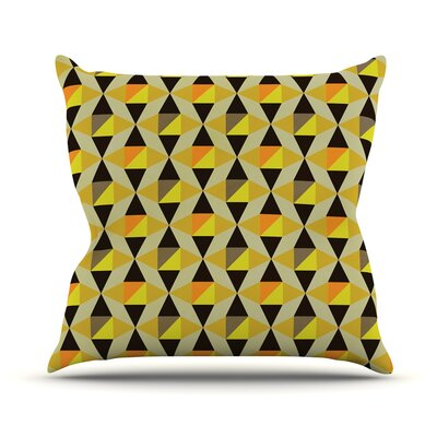 Onyx by Louise Machado Throw Pillow Size: 20 H x 20 W x 4 D