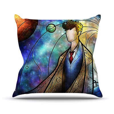 The 10th by Mandie Manzano Space Throw Pillow Size: 20 H x 20 W x 4 D
