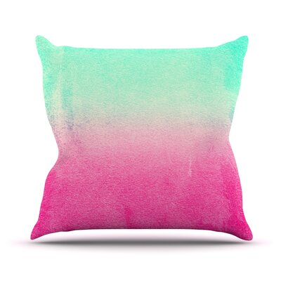 Sunny Melon by Monika Strigel Throw Pillow Size: 16 H x 16 W x 3 D