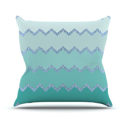 Avalon Ombre by Monika Strigel Throw Pillow Size: 26 H x 26 W x 5 D