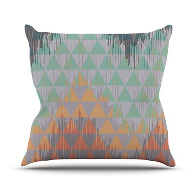 Ikat Geometrie by Nika Martinez Throw Pillow Size: 18 H x 18 W x 3 D