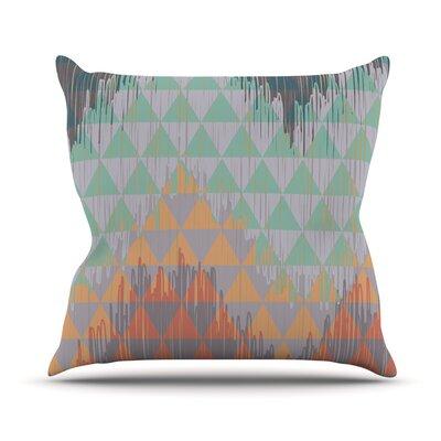 Ikat Geometrie by Nika Martinez Throw Pillow Size: 26 H x 26 W x 5 D