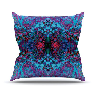Boysenberry by Nikposium Throw Pillow Size: 18 H x 18 W x 3 D