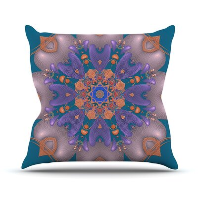 Whisker Lily by Michael Sussna Throw Pillow Size: 18 H x 18 W x 3 D