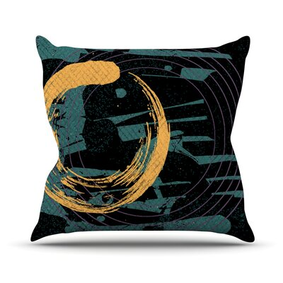 Weekend by Micah Sager Throw Pillow Size: 18 H x 18 W x 3 D