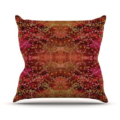 Summer by Nikposium Throw Pillow Size: 26 H x 26 W x 5 D