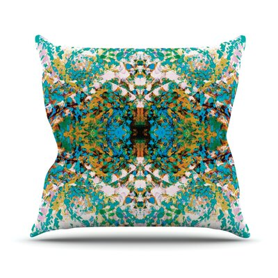 Summer Breeze by Nikposium Throw Pillow Size: 26 H x 26 W x 5 D