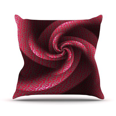 Isabellas Pinwheel by Michael Sussna Throw Pillow Size: 20 H x 20 W x 4 D