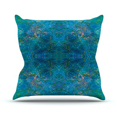 Clearwater by Nikposium Throw Pillow Size: 18 H x 18 W x 3 D