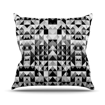 Geometrie by Nika Martinez Throw Pillow Size: 16 H x 16 W x 3 D