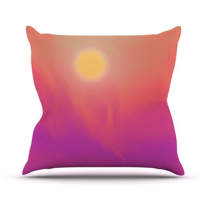 Yosemite Dawn by Michael Sussna Throw Pillow Size: 20 H x 20 W x 4 D