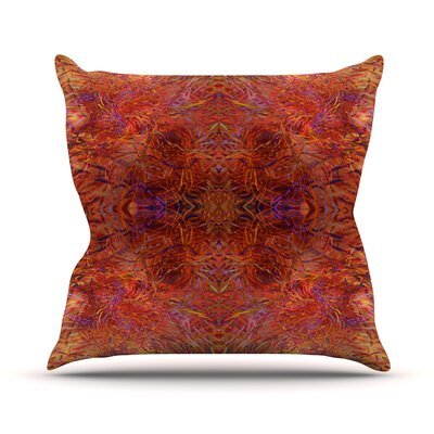 Sedona by Nikposium Throw Pillow Size: 26 H x 26 W x 5 D