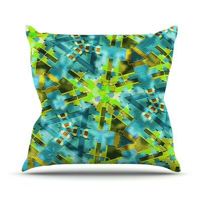 Pollenesia by Michael Sussna Throw Pillow Size: 26 H x 26 W x 5 D
