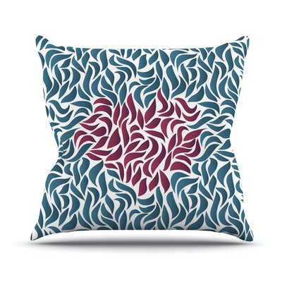 Desire by Nick Atkinson Throw Pillow Size: 18 H x 18 W x 3 D