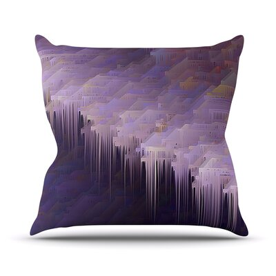 Malibu by Michael Sussna Throw Pillow Size: 18