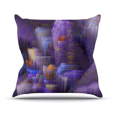 Mountain Majesty by Michael Sussna Throw Pillow Size: 16 H x 16 W x 3 D