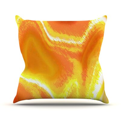 Sahara by Oriana Cordero Throw Pillow Size: 18 H x 18 W x 3 D