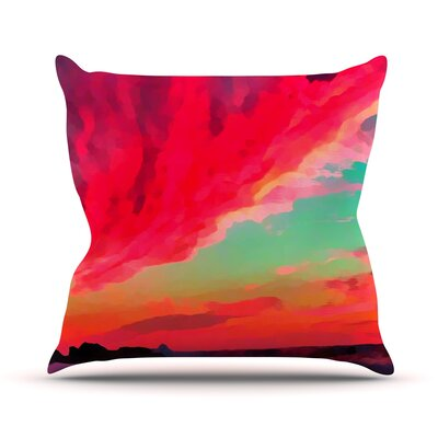Apetto Allalba by Oriana Cordero Throw Pillow Size: 18 H x 18 W x 3 D